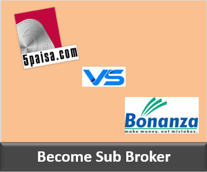 5Paisa Franchise vs Bonanza Portfolio Franchise - Comparison