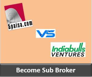 5Paisa Franchise vs Indiabulls Ventures Franchise - Comparison