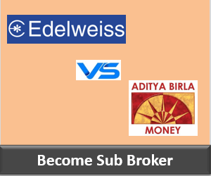Edelweiss Franchise vs Aditya Birla Money Franchise - Comparison-min