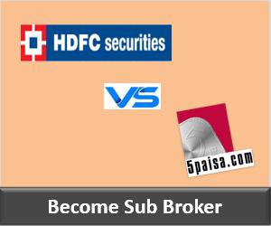 HDFC Securities Franchise vs 5Paisa Franchise - Comparison-min
