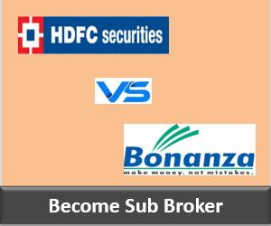 HDFC Securities Franchise vs Bonanza Portfolio Franchise - Comparison-min