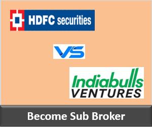 HDFC Securities Franchise vs Indiabulls Ventures Franchise - Comparison-min