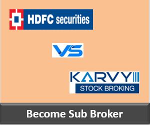 HDFC Securities Franchise vs Karvy Franchise - Comparison-min