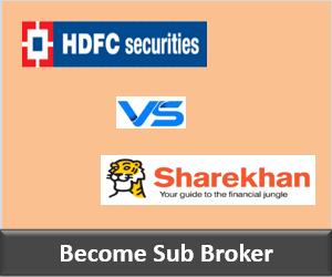 HDFC Securities Franchise vs Sharekhan Franchise - Comparison-min