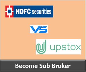 HDFC Securities Franchise vs Upstox Franchise - Comparison-min