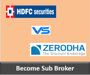 HDFC Securities Franchise vs Zerodha Franchise - Comparison-min