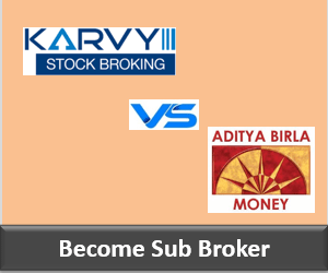 Karvy Franchise vs Aditya Birla Money Franchise - Comparison-min