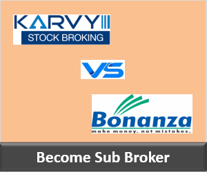 Karvy Franchise vs Bonanza Portfolio Franchise - Comparison-min
