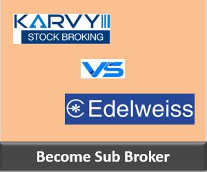 Karvy Franchise vs Edelweiss Franchise - Comparison-min