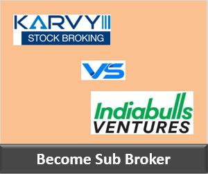Karvy Franchise vs Indiabulls Ventures Franchise - Comparison-min
