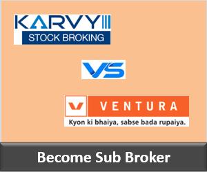 Karvy Franchise vs Ventura Securities Franchise - Comparison-min