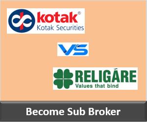 Kotak Securities Franchise vs Religare Securities Franchise - Comparison-min