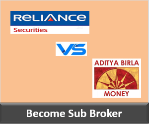 Reliance Securities Franchise vs Aditya Birla Money Franchise - Comparison-min