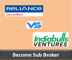 Reliance Securities Franchise vs Indiabulls Ventures Franchise - Comparison-min