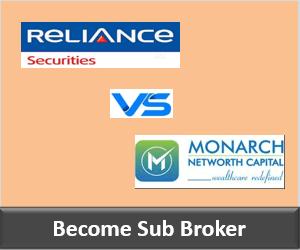 Reliance Securities Franchise vs Monarch Networth Franchise - Comparison-min