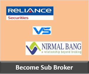 Reliance Securities Franchise vs Nirmal Bang Franchise - Comparison-min