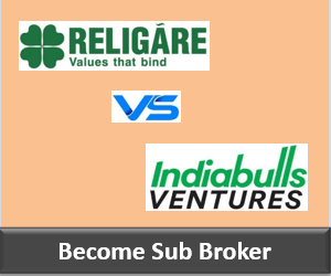 Religare Securities Franchise vs Indiabulls Ventures Franchise - Comparison-min