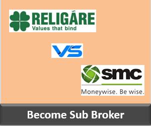 Religare Securities Franchise vs SMC Global Franchise - Comparison-min