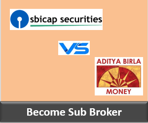 SBICap Securities Franchise vs Aditya Birla Money Franchise - Comparison-min