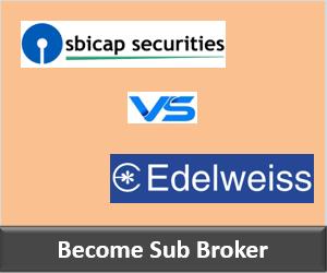 SBICap Securities Franchise vs Edelweiss Franchise - Comparison-min