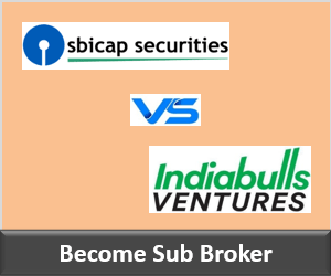 SBICap Securities Franchise vs Indiabulls Securities Franchise - Comparison-min