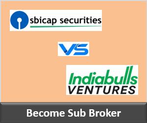 SBICap Securities Franchise vs Indiabulls Securities Franchise - Comparison-min