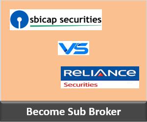 SBICap Securities Franchise vs Reliance Securities Franchise - Comparison-min