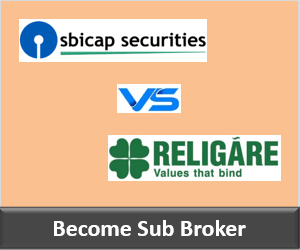 SBICap Securities Franchise vs Religare Securities Franchise - Comparison-min
