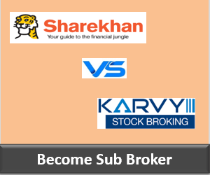 Sharekhan Franchise vs Karvy Franchise - Comparison-min