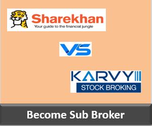 Sharekhan Franchise vs Karvy Franchise - Comparison-min