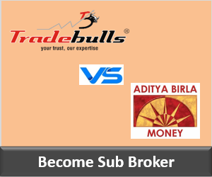 Tradebulls Securities Franchise vs Aditya Birla Money Franchise - Comparison-min
