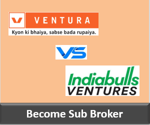 Ventura Securities Franchise vs Indiabulls Ventures Franchise - Comparison-min