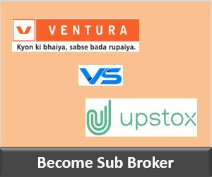 Ventura Securities Franchise vs Upstox Franchise - Comparison-min
