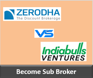 Zerodha Franchise vs Indiabulls Venture Franchise - Comparison-min